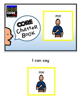 ME: Interactive CORE City Chatter Book