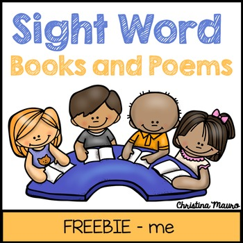 """ME"" Sight Word Book and Poem"