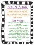 ME in a Bag-Getting to Know our Classmates