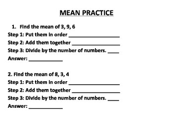 MEAN, MEDIAN, MODE AND RANGE MADE EASY AND FUN! (GRADES 4 - 6)