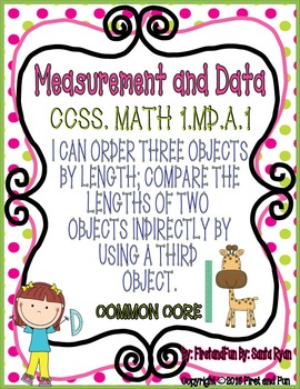 MEASUREMENT AND DATA COMPARING HEIGHTS GAMES & WORKSHEETS COMMON CORE MAFS