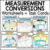 MEASUREMENT Bundle - Customary & Metric Conversions, Word