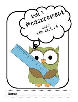MEASUREMENT - Common Core Alligned - 2.MD
