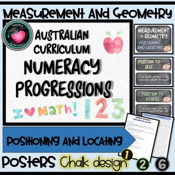 MEASUREMENT & GEOMETRY - Positioning and Locating Numeracy Progressions AU