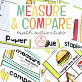 MEASUREMENT, GRAPHING, TIME AND MONEY: MATH ACTIVITIES FOR PRESCHOOL, PREK AND K