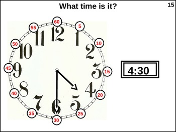 Measurement Practice: (animated) Time and Terperature