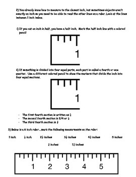 Basic Math Skills - MEASUREMENT Worksheet