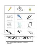 MEASUREMENT: classroom objects
