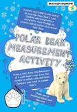 MEASUREMENT - draw a LIFE SIZE POLAR BEAR PAW compare to y