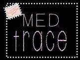 MED TRACE FONT