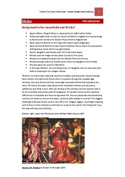 MEDEA-Euripides Teacher Text Guides & Worksheets