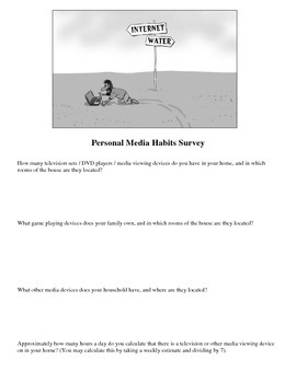 MEDIA HABITS SURVEY