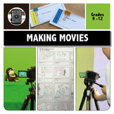 MEDIA LITERACY: MAKING MOVIES using MEDIA CODES activities & worksheets