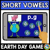 MEDIAL SOUND SHORT VOWELS CVC WORD WORK (EARTH DAY ACTIVIT