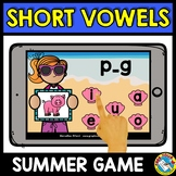 MEDIAL SOUND SHORT VOWELS CVC WORD WORK (END OF THE YEAR A