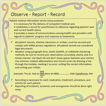 MEDICAL BASICS 101 (Part 2)