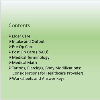 MEDICAL BASICS 101 (Part 3)