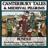 MEDIEVAL PILGRIMS &  CANTERBURY TALES BUNDLE - Comprehensi