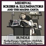 MEDIEVAL SCRIBES BUNDLE - Reading Comprehension, Enrichmen