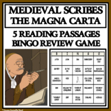MEDIEVAL SCRIBES & THE MAGNA CARTA - Reading Passages and