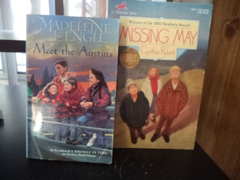 MEET THE AUSTINS     MISSING MAY             (set of 2)