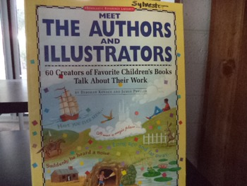 MEET THE AUTHORS AND ILLUSTRATORS isbn 0-590-49097-4