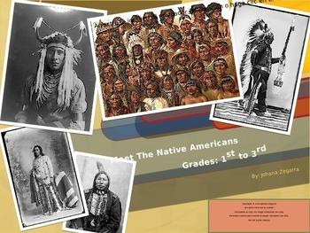 MEET THE NATIVE AMERICANS (GRADES 1-3)