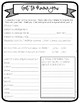 MEET THE TEACHER AND BACK TO SCHOOL FORMS - EDITABLE - BLACK AND WHITE