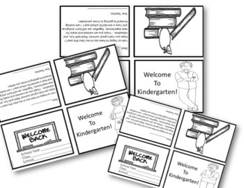 MEET THE TEACHER Welcome Notes For Kindergarten