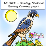 MEGA 10 Free - Holiday, Seasonal, Biology Coloring Pages