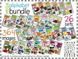 MEGA Alphabet Clipart Bundle N-Z {A Hughes Design}