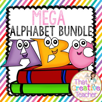 MEGA Literacy Center Pack