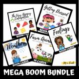 MEGA BOOM BUNDLE: 5 ASL Vocabulary Activity Boom Card Decks
