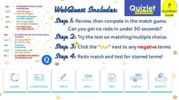 MEGA PACK 10-Day Interactive Study Year-End Test Review-Flashcards,Game,Quiz