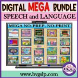 Teletherapy MEGA BUNDLE Language Speech Literacy Distance