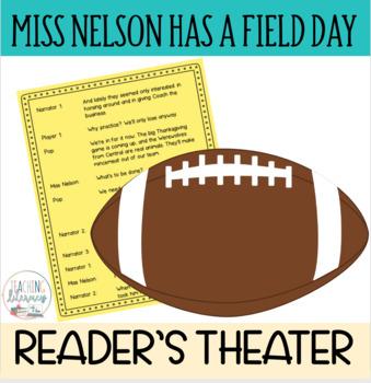 MEGA BUNDLE - 3 Miss Nelson Stories - READERS' THEATER - Fluency - CCSS