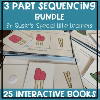 MEGA BUNDLE 3 PART SEQUENCING FOR AUTISM AND SPECIAL EDUCATION