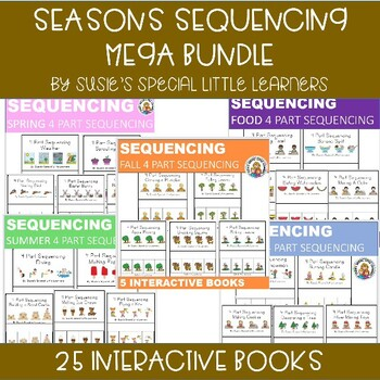 MEGA BUNDLE 4 PART SEQUENCING FOR AUTISM AND SPECIAL ED