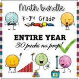 50% OFF MEGA BUNDLE ALL ABOUT MATH FOR THE ENTIRE YEAR $AV