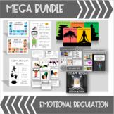 MEGA BUNDLE Emotional Regulation Resources (Compatible with Zones of Regulation)