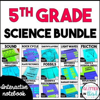 MEGA BUNDLE Fifth-Grade Science Interactive Notebook