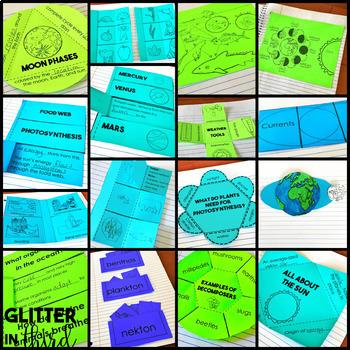 MEGA BUNDLE Fourth-Grade Science Interactive Notebook VA SOL