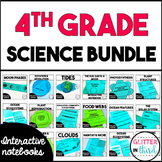 MEGA BUNDLE Fourth-Grade Science Interactive Notebook