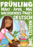 MEGA BUNDLE German Easter / Deutsch OSTERN + Frühling Beginner