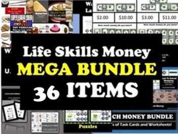 MEGA BUNDLE: Life Skills Money 24 Products