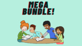 MEGA BUNDLE MS/HS Speech and Language Activities for Mixed Groups BOOM CARDS