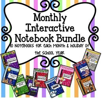 MEGA BUNDLE Seasons Interactive Notebook