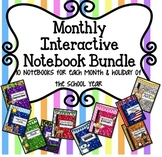 MEGA BUNDLE Seasons Interactive Notebook