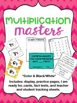 MEGA BUNDLE- Multiplication Masters