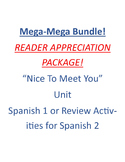 MEGA BUNDLE - NICE TO MEET YOU UNIT!